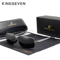 Men polarized aluminum sunglasses