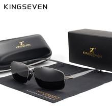 KINGSEVEN Vintage Retro Brand Designer Men Polarized Sunglas
