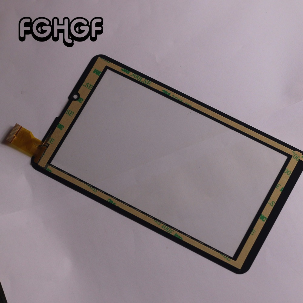 10pcs Original Film+ New Touch screen Digitizer 7 Explay Hit 3G Tablet Outer Touch panel Glass Sensor replacement Free Shipping