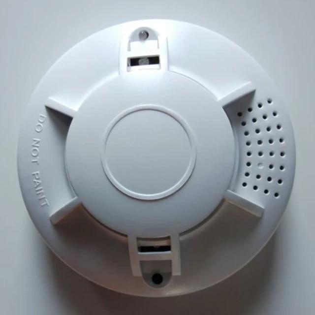 Battery Powered Photoelectric Smoke Alarm Independent Smoke