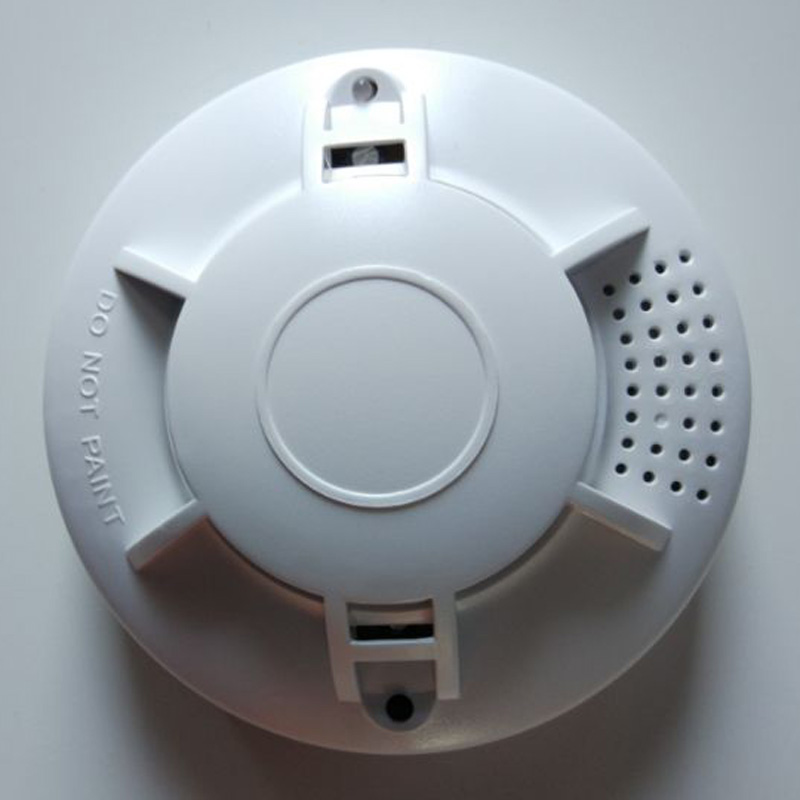 US $4 9 |Battery Powered Photoelectric Smoke Alarm Independent smoke  detector Single station type smoke detector-in Smoke Detector from Security  &