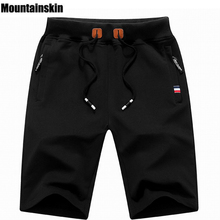 Mountainskin 2018 Solid Men's Shorts 6XL Summer Mens Beach Shorts Cotton Casual Male Shorts homme Brand Clothing SA210