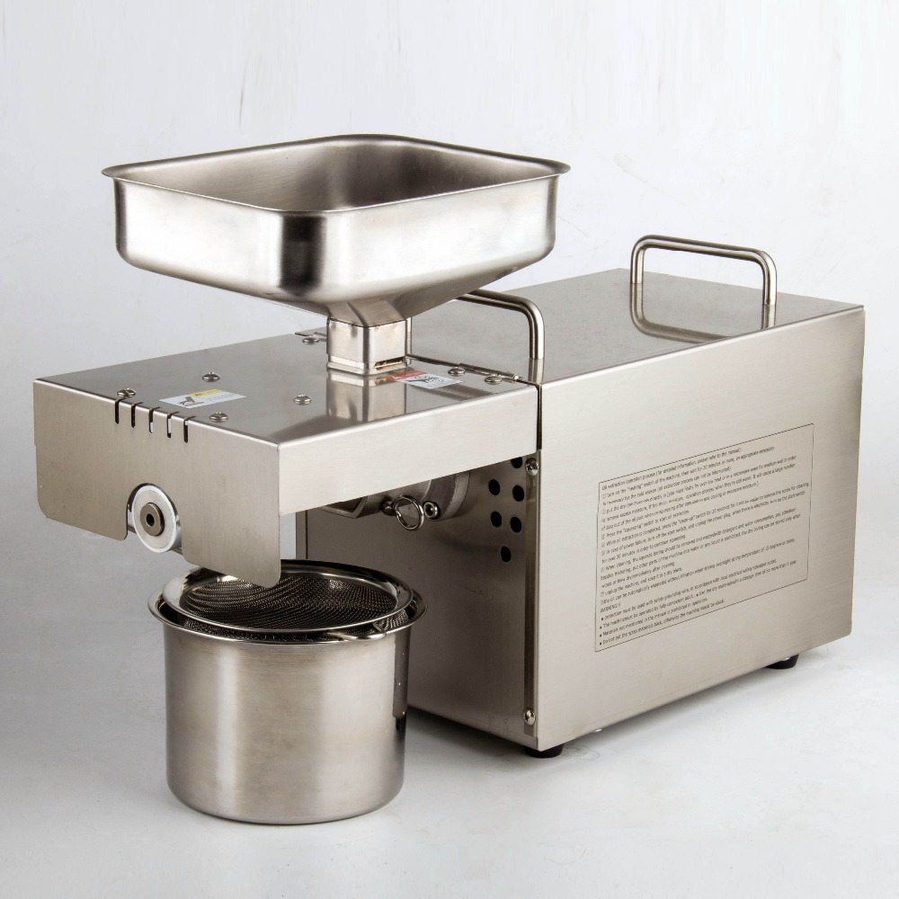 Household press automatic small and medium-sized family intelligent stainless steel peanut oil factory direct sales 501