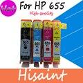 (hisaint)compatible printer ink cartridges for hp 655 ink cartridge for hp Deskjet Ink Advantage 3525/4615/4625/5525/6520/6525