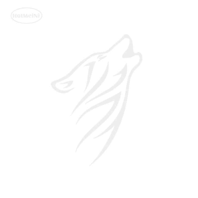 Hotmeini автомобиля Стикеры волк племенных винил Графический наклейка окна автомобиля Стикеры черный/Щепка 15 см