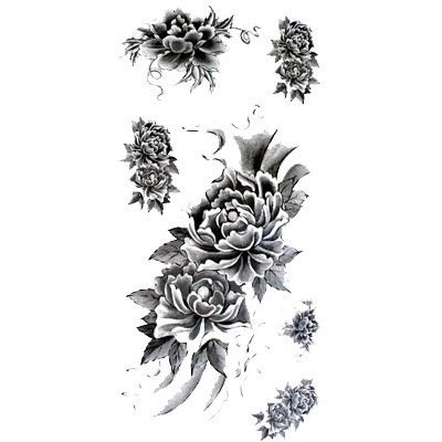 Exotic Flower Tattoos Pictures