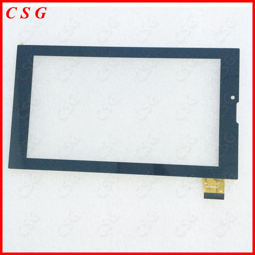 10pcs/lot 100% New touch screen For 7 inch Oysters T72MS 3G Tablet Touch panel Digitizer Sensor Replacement Free Shipping 7 inch tablet capacitive touch screen replacement for bq 7010g max 3g tablet digitizer external screen sensor free shipping