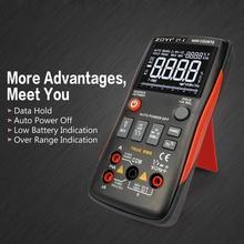 ZT-X Digital Multimeter Auto Range True RMS AC/DC Volt Amp Ohm Capacitance Duty Cycle NCV Diode Temperature Tester 9999 Counts веременюк в тренажер по математике для подготовки к централизованному тестированию и экзамену
