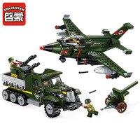 ENLIGHTEN City Military War Fighter M31 armored vehicles Building Blocks Sets Bricks Model Kids Toys Compatible Lepine toy gift
