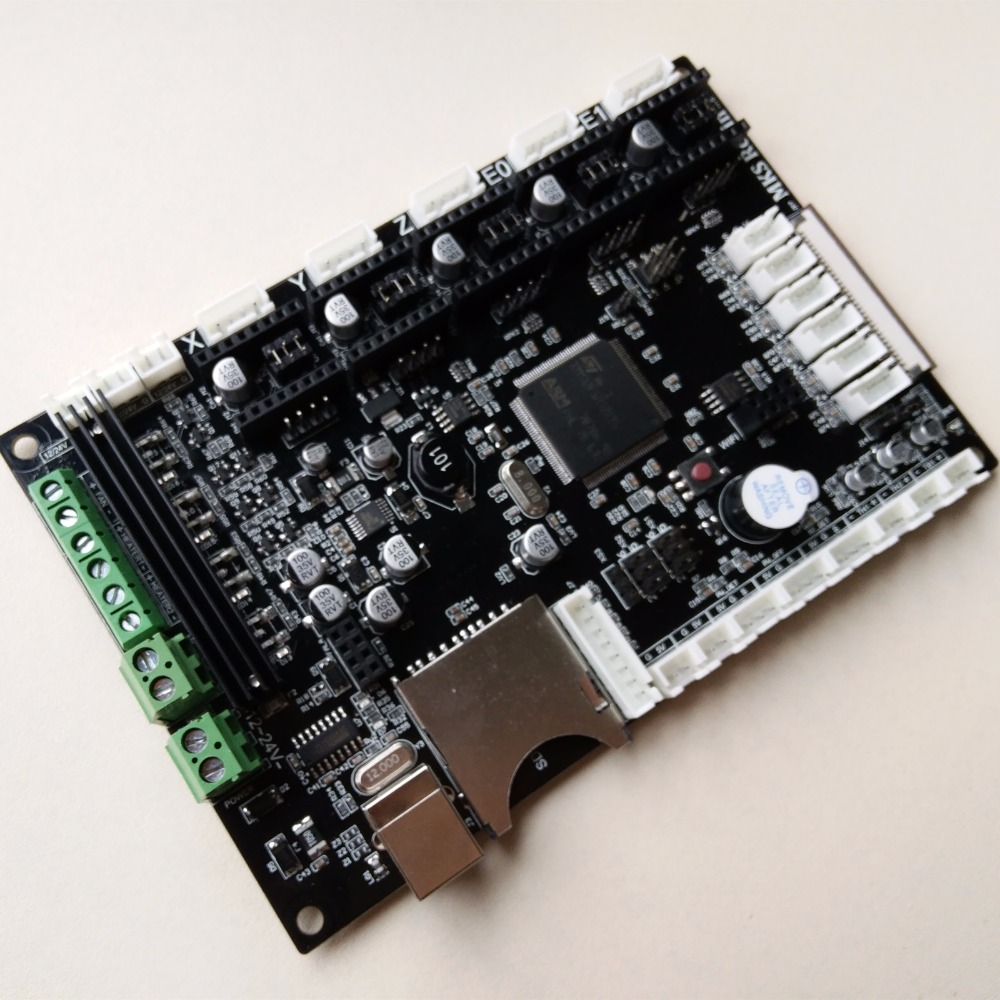 Free Shipping MKS Robin STM32 integrated circuit mainboard Robin controller mother board цена