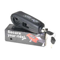 1Pcs Universal Motorcycle Lock Motorbike Scooter Handlebar Safety Lock Brake Throttle Grip anti theft Protection Security Lock