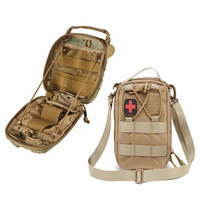 Tactical military medical bag travel first aid kit waterproof pack camping climbing bag emergency case survival outdoor supplies