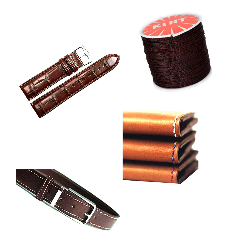 0 45mm 0 5mm 0 6mm 0 7mm Durable Leather Sewing Waxed Thread String Cord For DIY Handicraft Tool Hand Stitching Thread Materials in Jewelry Findings Components from Jewelry Accessories