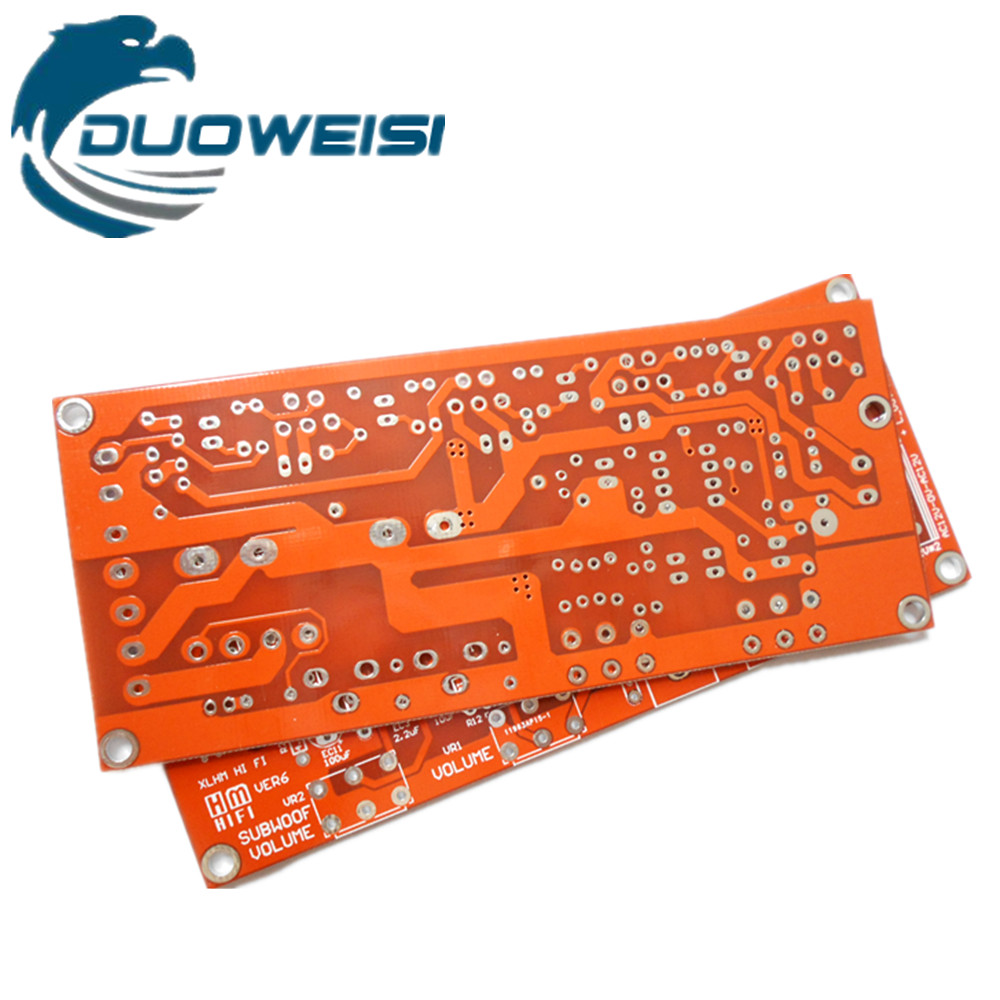 Tda2030a Lm1875 Tda2050 Empty Board Pcb Circuit 21 Three Channel Amplifier In Replacement Parts Accessories From Consumer Electronics On