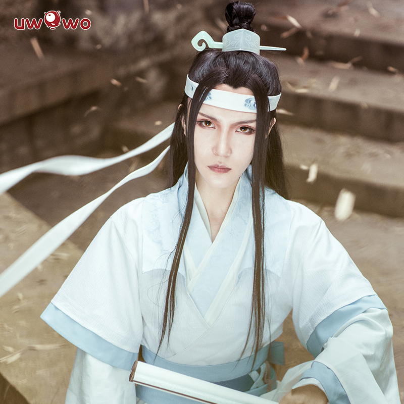Image 2 - UWOWO Teenager Ver Lan Wangji Cosplay Anime Grandmaster of Demonic Cultivation Cosplay Costume Lan Wangji Costume Mo Dao Zu Shi-in Anime Costumes from Novelty & Special Use