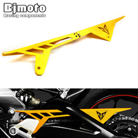 Motorcycle CNC Aluminum Chain Guards Cover Protector Gold For Yamaha MT 09 MT09 FZ9 2013 2014
