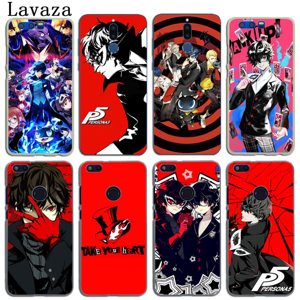 Lavaza Persona 5 P5 Phone Cover Case For Huawei P20 Pro P10 P9 Plus Take Your Heart Y6 Prime Y5 Ii Y7 2017 2018 Honor Play 10