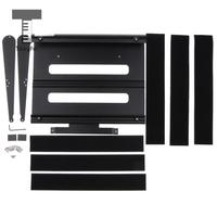 Tooyful Aluminum Alloy Effects Pedalboard with Carry Bag for Electric Guitar Parts Accessories