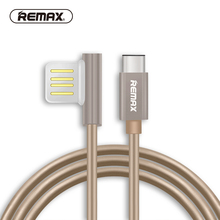 usb cable type C Portable 90 Degree Dual USB C Durable Charger Cable for xiaomi mi 8 phone honor LG G5 USB-C Charger