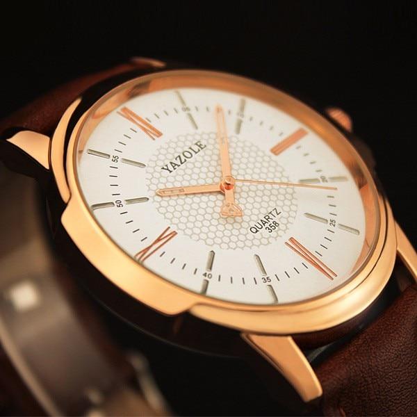 HTB1UUxUKFXXXXbdXVXXq6xXFXXXo - YAZOLE 2017 Rose Gold Luxury Watch for Men