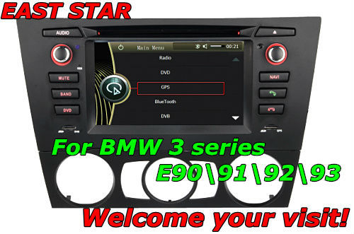 car PC dvd player for BMW E90 E91 E92 E93 with radio usb sd mp3 mp4 bluetooth ipod gps dvb-t can bus and other functions ES-1102