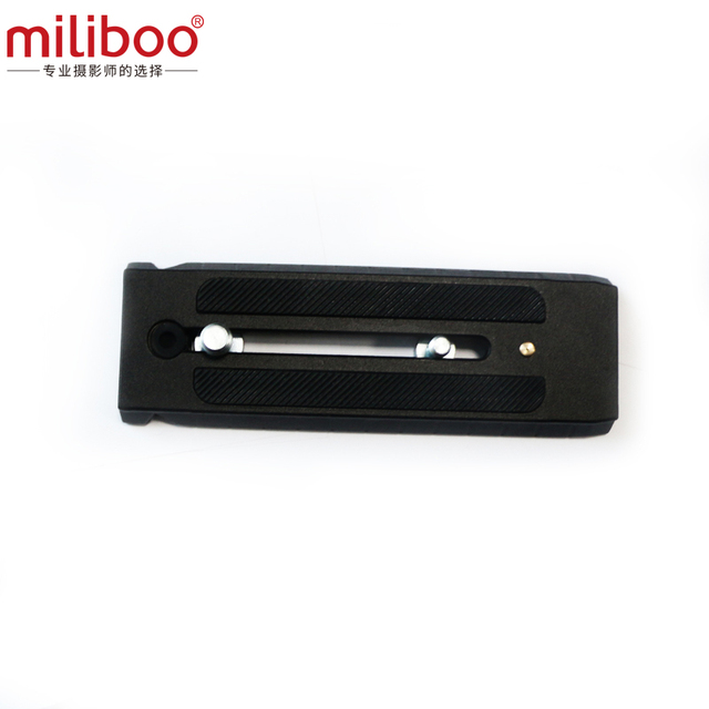 miliboo MYT806 Quick Release Plate for Camera Fluid Head Ball Tripod & Monopod Stand Length 145cm*50cm Load 8 kg
