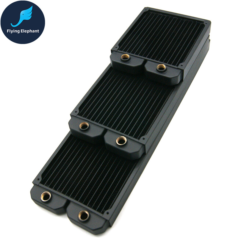 140 280 420 Case Water Cooling Radiator PC Copper Liquid Cold Row Heatsink For 140mm Fan