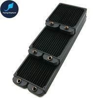 140 280 420 Case Water Cooling Radiator PC Copper Liquid Cold Row Heatsink For 140mm Fan