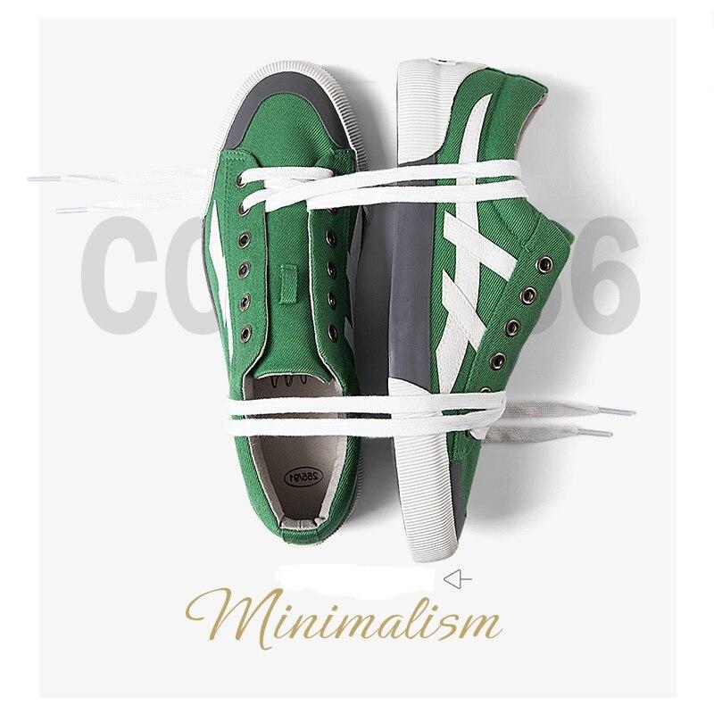 Men's Brand Canvas Casual Footwear Solid Men Vulcanize Shoes Flat Ultras Boosts Krasovki Mans Breathable Male Calzado Hombre tn