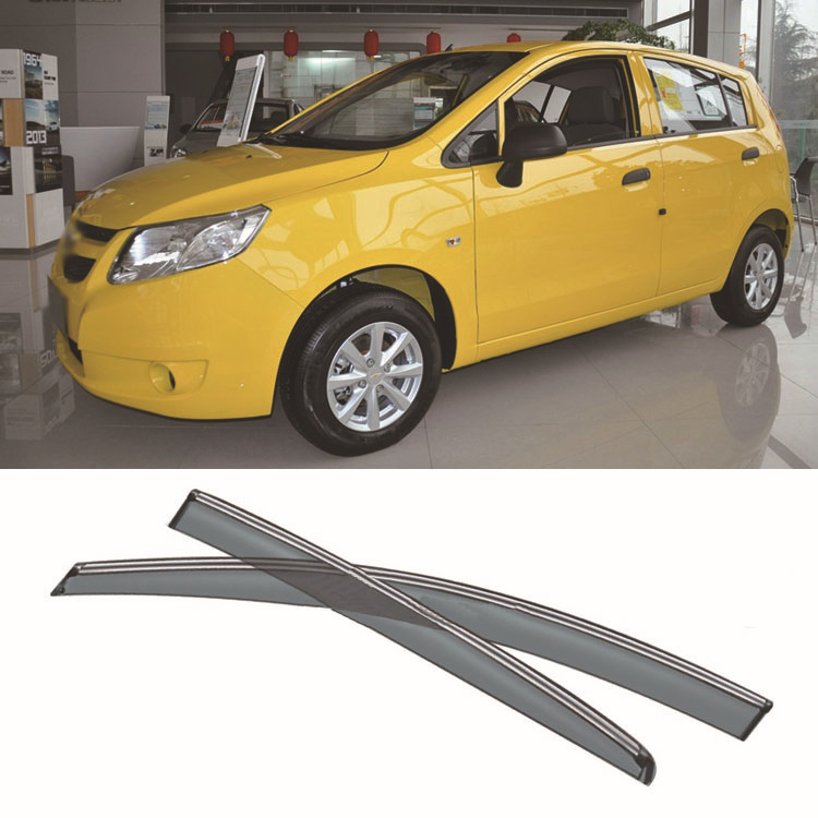 4pcs Blade Side Windows Deflectors Door Sun Visor Shield For Chevrolet  Aveo Hatchback 2011-2013 4pcs blade side windows deflectors door sun visor shield for toyota verso ez 2011 2014