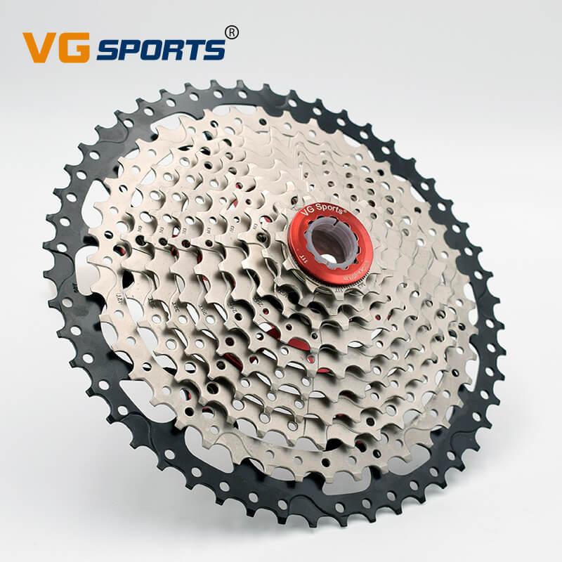 VG Sport 10 vitesses 11-50 T Cassette vtt vélo roue libre pignon cdg 50 T cog Velocidade VTT roue libre ultraléger 589g