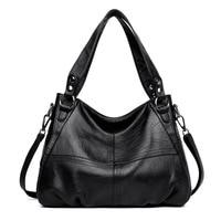 2019 Designer Women Genuine Leather Handbag Large Capacity Tote Bags For Women Luxury Shoulder Bag Famous Brand Handbags