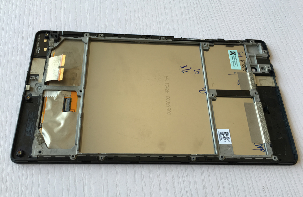 R&U Used parts lcd screen display with touch screen digitizer assembly with frame for ASUS MEMO PAD 7 ME571KL
