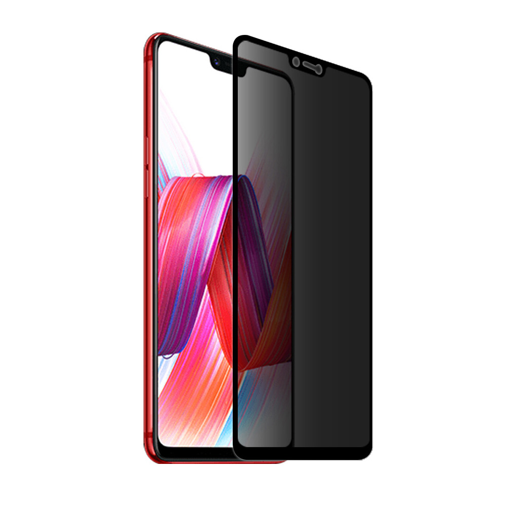9h Full Cover Privacy Tempered Glass For Oppo R15 Pro R11s Plus R9s F1 F7 A3 Anti Peeping Screen Protector Protective Film In Phone Protectors