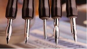 Image 2 - 5 Pieces / lot Manga Comic pen dip pen G pen set Anime Nib Tools Pro Drawing Art Supplies