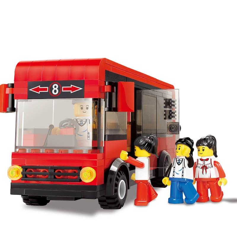Creator Series The Model Town House Model Building Block Classic Architecture Villa Education Toys For Children