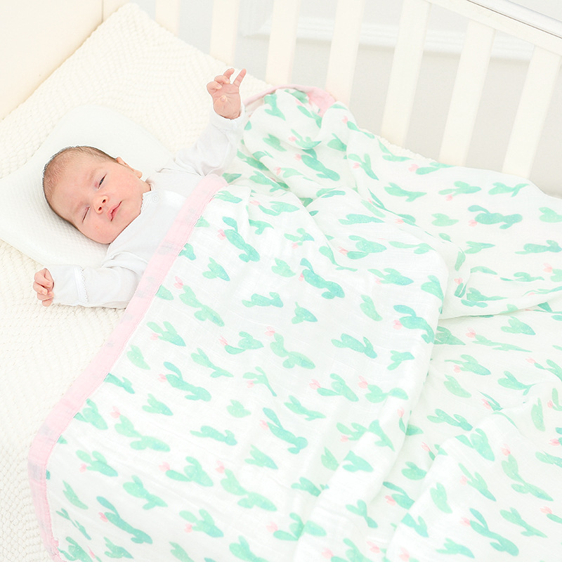 все цены на four layer bamboo baby muslin blanket Muslin Tree swaddle better than Aden Anais Baby/bamboo Blanket Infant Wrap baby blankets
