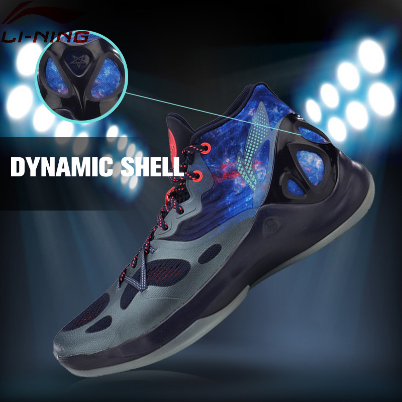 Li-Ning Men's Sonic V Basketball Shoes Professional Basketball Sneakers Support LiNing Sports Shoes ABAM019 XYL096 li ning brand men basketball shoes sonicv series professional camouflage sneakers support lining breathable sports shoes abam019