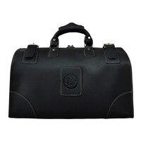 Винтажный багаж путешествия вещевой сумки человек пояса из натуральной кожи дорожная сумка Высокое качество 18 Большой ёмкость