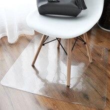 Transparent floor mat 1.5mm thickness rug Plastic pvc Round door Wooden protection Swivel chair non-slip carpet