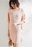 30 мм тяжелое шелковое платье свободного кроя, размер d, миди платья высокого качества, роскошная sukienka, плюс размер, Morandi, зеленая летняя одежд