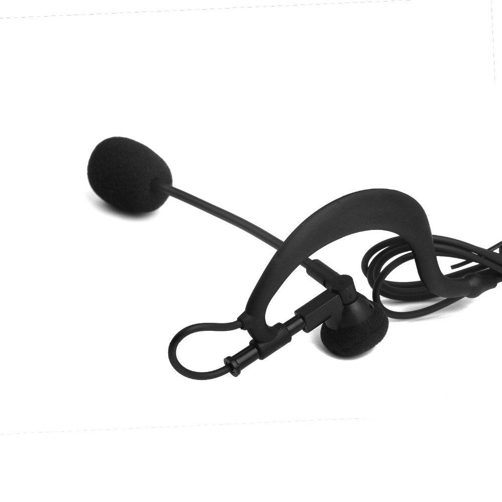2017 Cascos Para Moto Ktm Helmet Football Referee Headset Earhook Monaural Earphone for Arbitration And for Coach (vnetphone)
