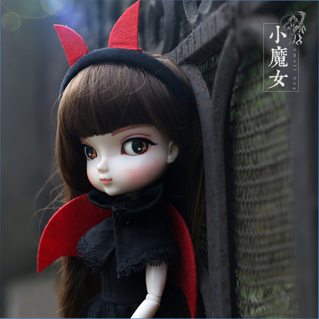 Free Shipping 35cm Jimusuhutu SD BJD Fashion Girl Dolls 1/6 Ball Joint Resin Kit Pretty Gril Doll Classic Gift Toy for Girl 1