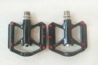 Hot item light weight C251 155g full carbon titanium axis mtb road bike pedals