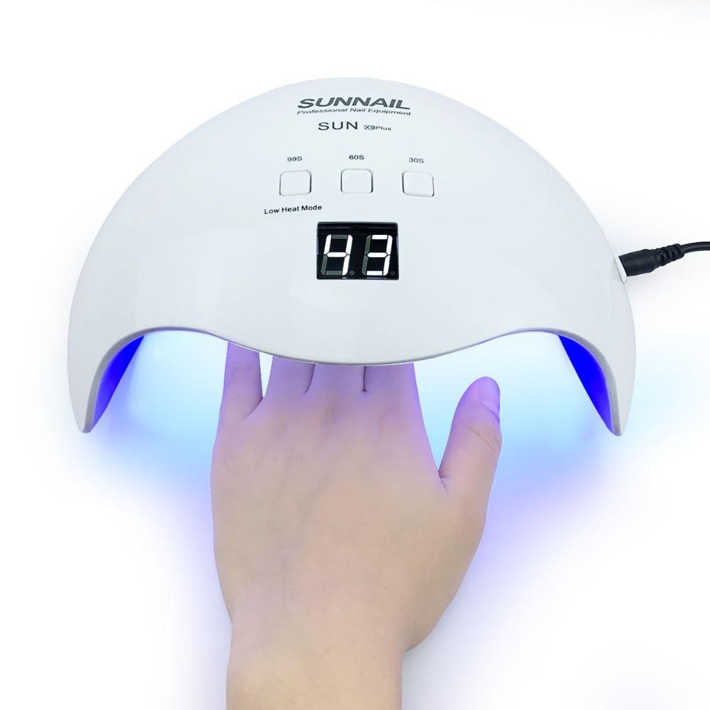 YUJIA sol X9 48 W luz UV lámpara LED secado rápido secador de uñas máquina lámpara de curado UV Gel herramientas del arte del clavo polaco