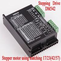 DM542 Stepper Motor Controller Leadshine 2 phase Digital Stepper Motor Driver 18 48 VDC Max. 4.1A for 57 86 Series Motor