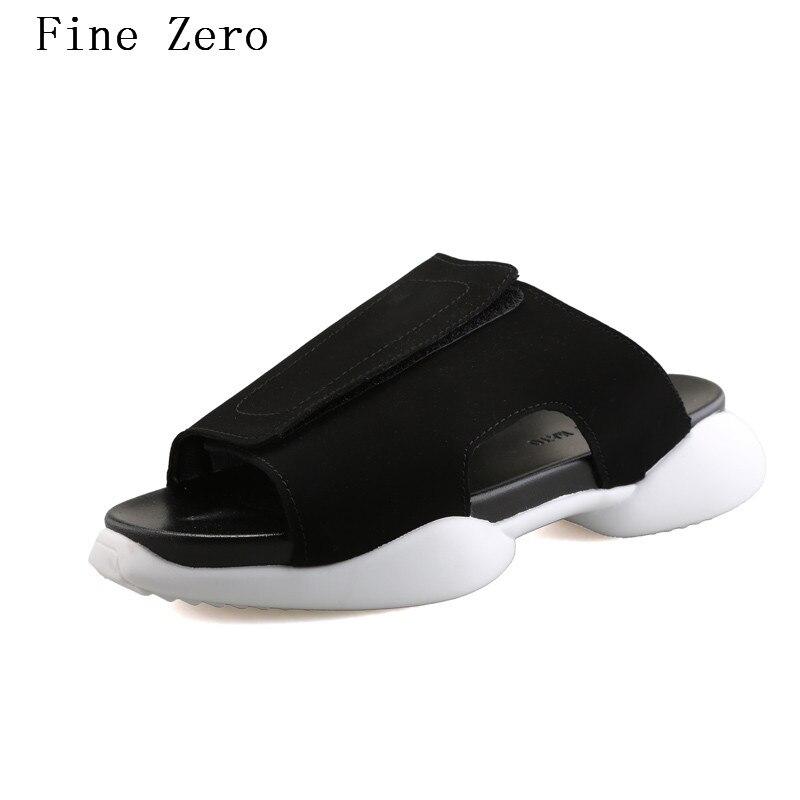 Fine Zero Summer Men Flax Flip Flop Canvas Non Slip Designer Flat Sandals Male Home Slippers