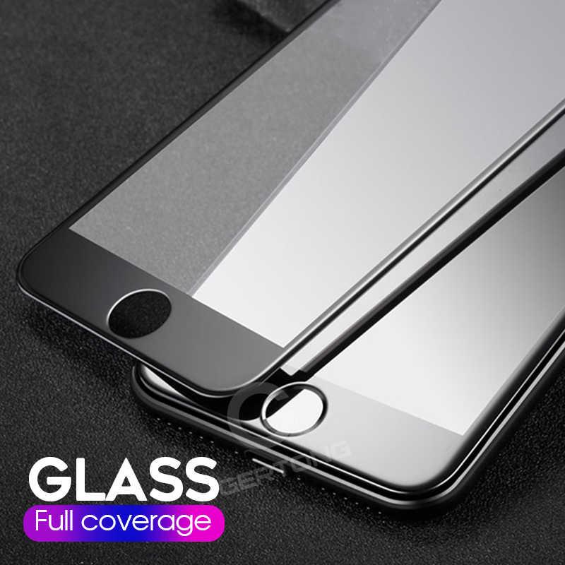 Per il iphone 6 6 S 7 8 Più di X XR XS XS Max True 9D Temperato Pellicola di Vetro Su iPhone 6 s 6 Plus 7 Plus 8 Più Completa Pellicola Della Protezione Dello Schermo
