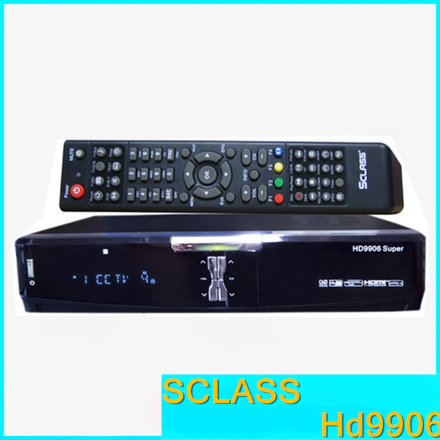 Cheapest HD Receiver Sclass HD9906 Satellite Receiver With DVB-S2 and DVB-S Support USB Cccamd