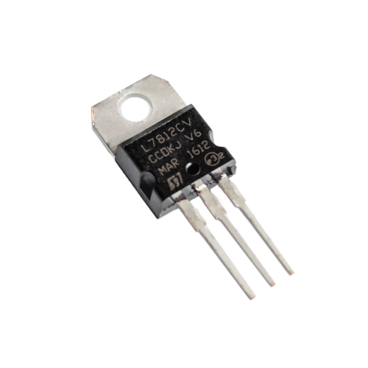 Circuito integrato L7812 L7812cv 7812 regolatore stabilizzatore di tensione